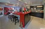 Tủ bếp gỗ Laminate có đảo TBT0248