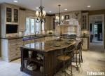 Nội thất Tủ Bếp – Tủ bếp Gỗ tự nhiên – TBN224