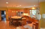 Tủ bếp gỗ Xoan Đào có đảo TBT0267