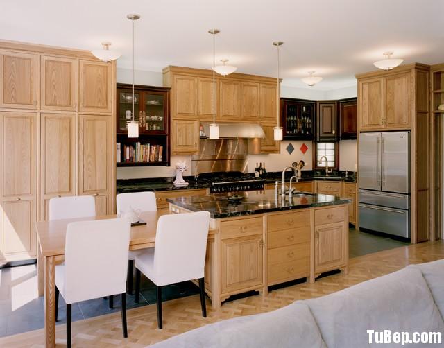 sồi Tủ bếp gỗ Sồi Nga   TBB061
