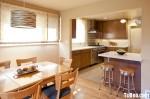 Tủ bếp MDF Laminate + bàn Bar Mini – TBB200