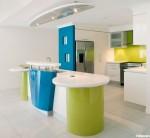 Tủ bếp Acrylic có đảo TBT0239