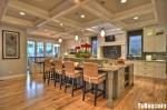 Nội thất Tủ Bếp – Tủ bếp gỗ tự nhiên – TBN179