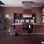 Nội thất Tủ Bếp   Tủ bếp Gỗ tự nhiên – TBN230