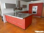Tủ bếp gỗ Acrylic chữ L TBT0085