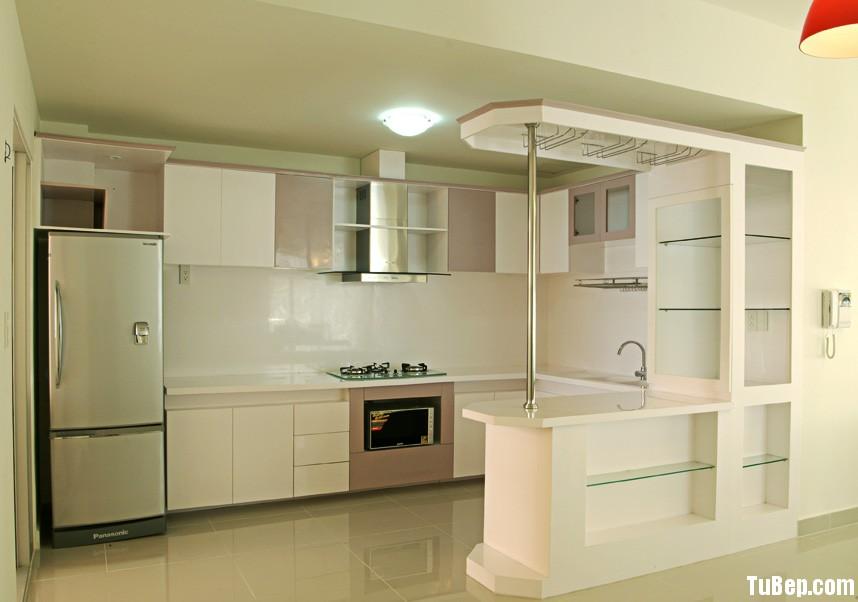 acrylic 1406 Tủ bếp gỗ MDF Acrylic – TBB083
