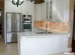 Tủ bếp gỗ tự nhiên chữ I TBT0524