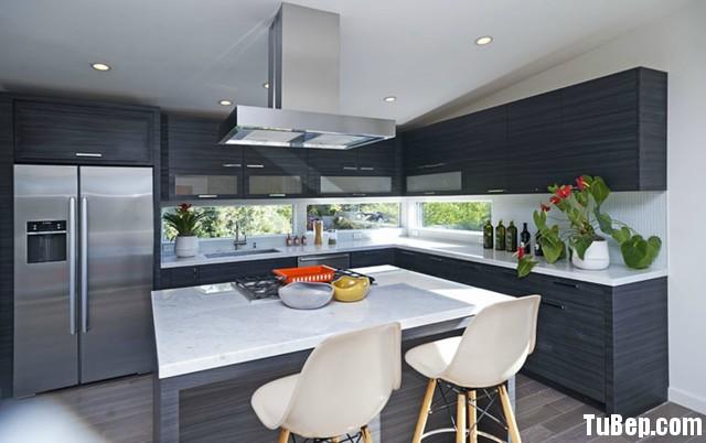 bếp laminate Tủ bếp laminate có bàn đảo   TBN037