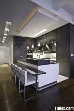 Tủ bếp MDF Laminate có bàn đảo – TBB092