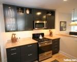 Tủ bếp gỗ MDF Acrylic  – TBB074