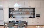 Tủ bếp hình chữ I gỗ MDF Acrylic– TBB216