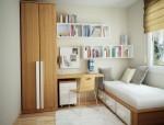 Nội thất phòng ngủ nhỏ và hẹp