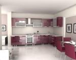 Tủ bếp gỗ Acrylic TBT0102