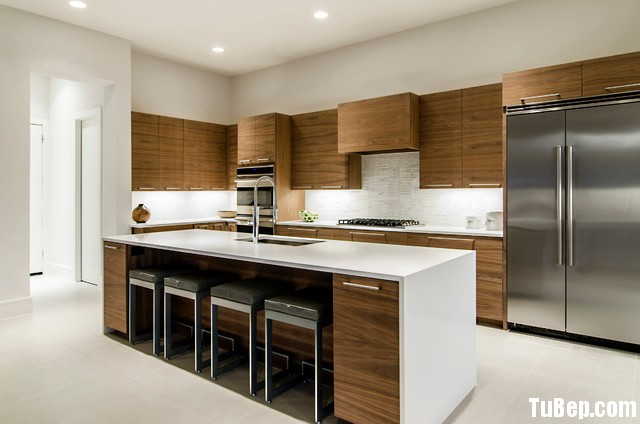 3007 5 Tủ bếp gỗ MDF Laminate – TBB427