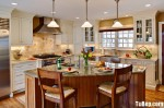 Tủ bếp gỗ Sồi Mỹ – TBB279
