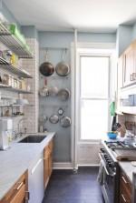 Tăng diện tích sử dụng cho phòng bếp nhỏ