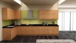 Tủ bếp gỗ Verneer Xoan Đào TBT0368