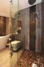 Gạch lát sàn cho phòng tắm phong cách