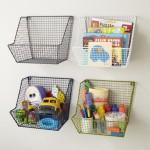 Lưu trữ đồ chơi cho trẻ bằng những kệ sáng tạo