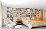 Hô biến phòng ngủ thành góc đọc sách ấn tượng