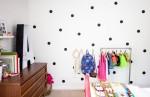 Phòng ngủ ngọt ngào và sôi động của bé gái 7 tuổi