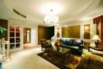 Bố trí ánh sáng cho phòng khách thêm ấm cúng