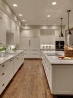Cải thiện không gian phòng bếp dài và hẹp