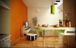 Phòng ăn màu trắng mang lại cảm giác hiện đại