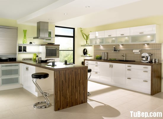 0607 acrylic Tủ bếp gỗ MDF Acrylic – TBB283