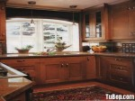 Tủ bếp gỗ tự nhiên Căm Xe – TBB396