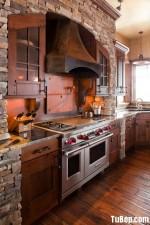 Tủ bếp gỗ Căm Xe – TBB264