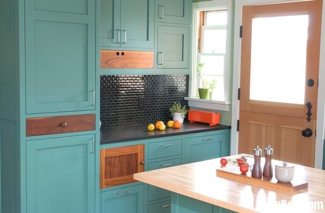 xãd1 Nội thất Tủ Bếp   Tủ bếp tự nhiên – TBN357
