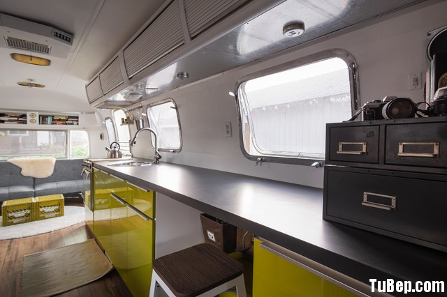 contemporary kitchen Tủ bếp công nghiệp – TBN478
