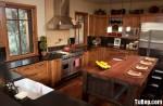 Tủ bếp gỗ Tần Bì – TBB380