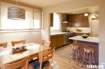 Tủ bếp MDF Laminate + bàn Bar – TBB423