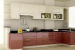Tủ bếp gỗ MDF Acrylic – TBB359