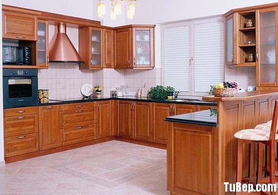 2607 2 Tủ bếp gỗ tự nhiên Giáng Hương – TBB402