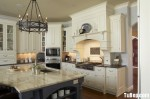 Tủ bếp gỗ Sồi Mỹ – TBB254