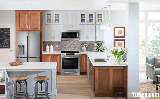 ghdhdzhdz Nội thất Tủ Bếp   Tủ bếp tự nhiên – TBN443