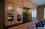 Tủ bếp gỗ Sồi Nga – TBB265