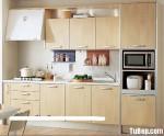 Tủ bếp gỗ MDF Laminate – TBB401