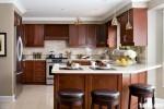 Tủ bếp gỗ Căm xe tự nhiên TBT0288