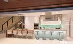 Tủ bếp gỗ MDF Acrylic có bàn đảo – TBB383