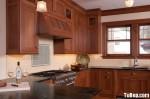 Tủ bếp gỗ tự nhiên Căm xe – TBB323