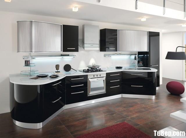 2106 Acrylic face 2 Tủ bếp gỗ MDF Acrylic – TBB421