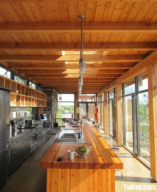 dhsdfhszh Nội thất Tủ Bếp   Tủ bếp tự nhiên + công nghiệp – TBN405