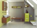 Không gian thư giãn tuyệt vời trong phòng tắm