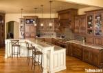 Tủ bếp gỗ Căm Xe – TBB255