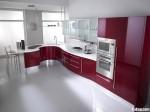 Tủ bếp Acrylic có đảo TBT0432