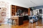 Tủ bếp gỗ MDF Laminate– TBB338
